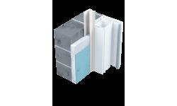 Profilé de protection pour portes et fenêtres en PVC